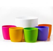 Купить Цветной пластик в интернет-магазине - Продажа кашпо для цветов в Санкт-Петербурге